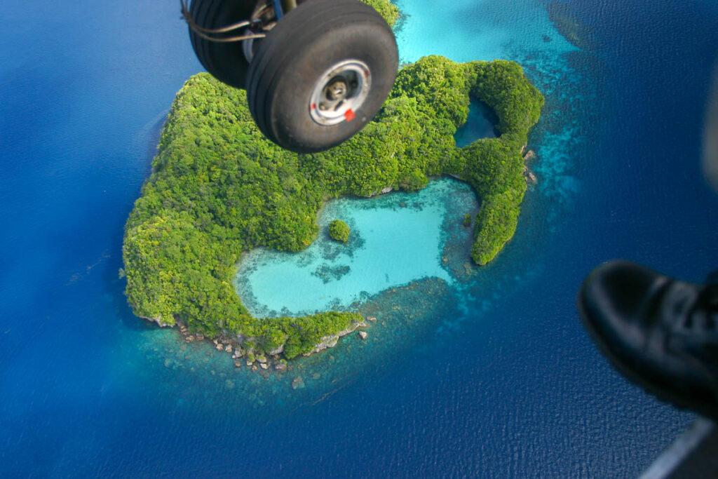 The beauty of Palau