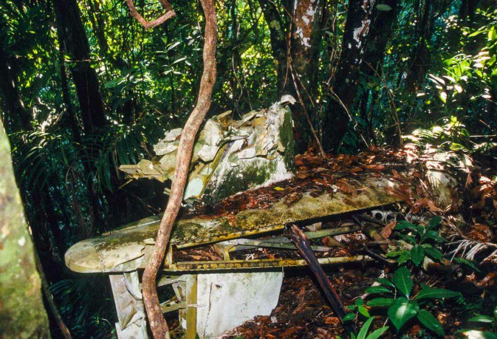 USMC Corsair Wreckage