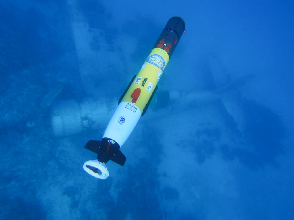 AUV in Action - The Science Behind the Search for MIAs