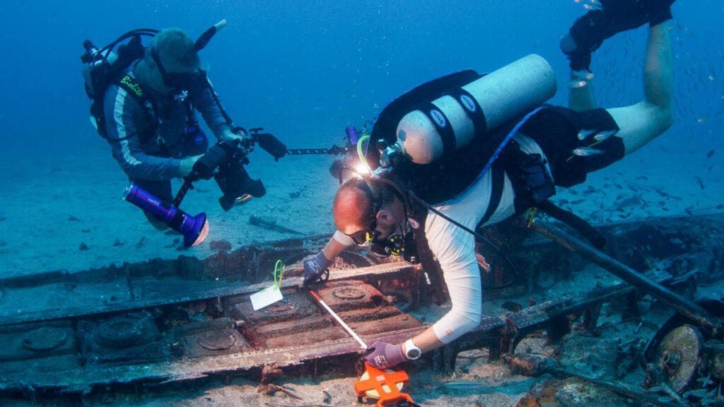 Documenting Crash Site Papua New Guinea