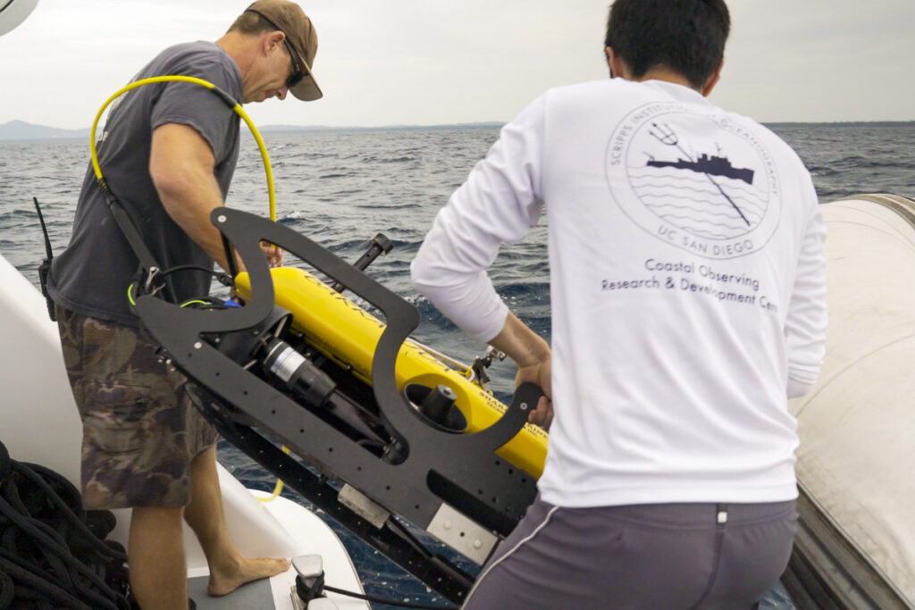 Deploying an ROV - The Science Behind the Search for MIAs
