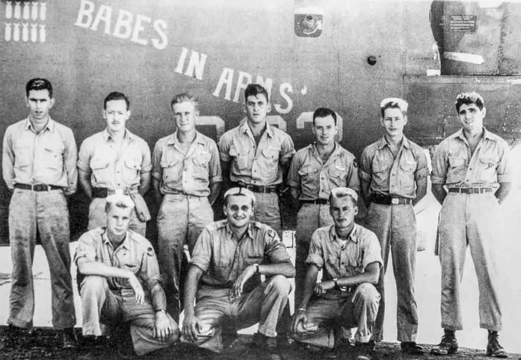 The Air Crew of the Arnett B-24